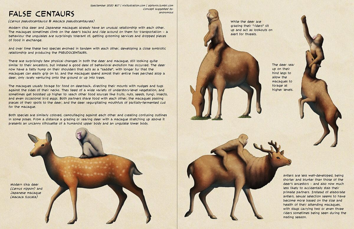 Spectember #17: False Centaurs