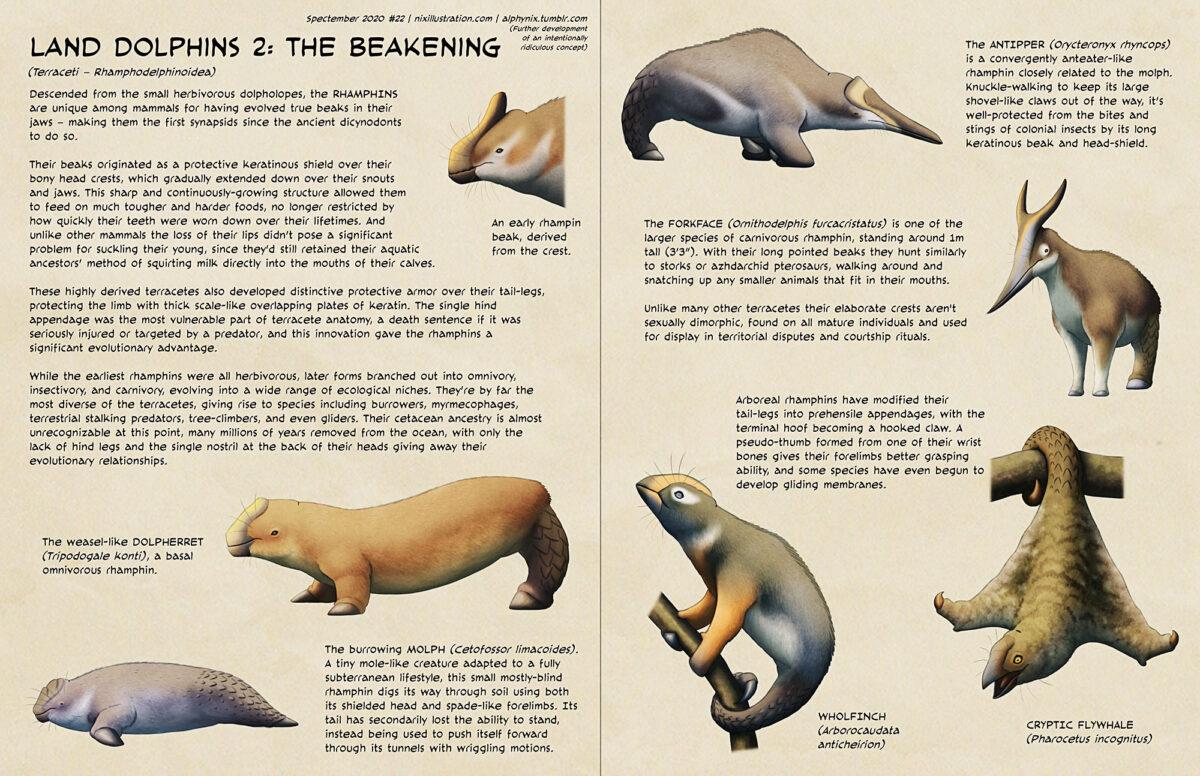 Spectember #22: Land Dolphins 2 – The Beakening